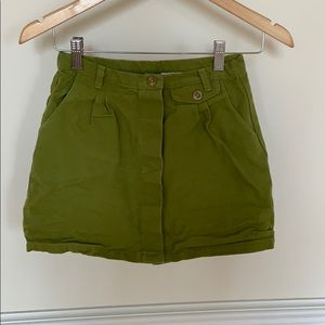 Green skirt from urban outfitters